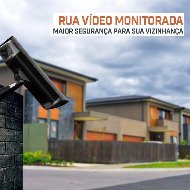 Rua Vídeo Monitorada